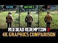 Red Dead Redemption 2 4K Comparison - PC / PS4 Pro / Xbox One X