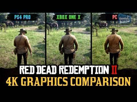Red Dead Redemption 2 4K Comparison - PC / PS4 Pro / Xbox One X