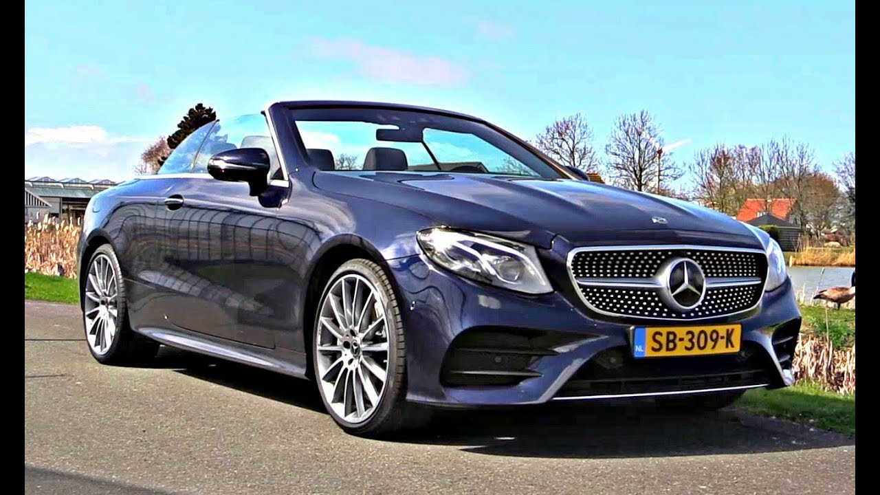 Mercedes E Cl Cabriolet 2018 New Full Test Drive Review Interior Exterior Infotainment