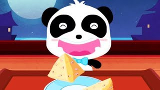 Baby Panda Chinese Recipes - Kids Learn Cooking + Baby Panda Hospital - Educational Kids Game