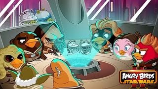 Angry Birds Star Wars II - PORK BATTLE OF NABOO Level 19-20 BIRD RISE OF THE CLONES Level 1-3