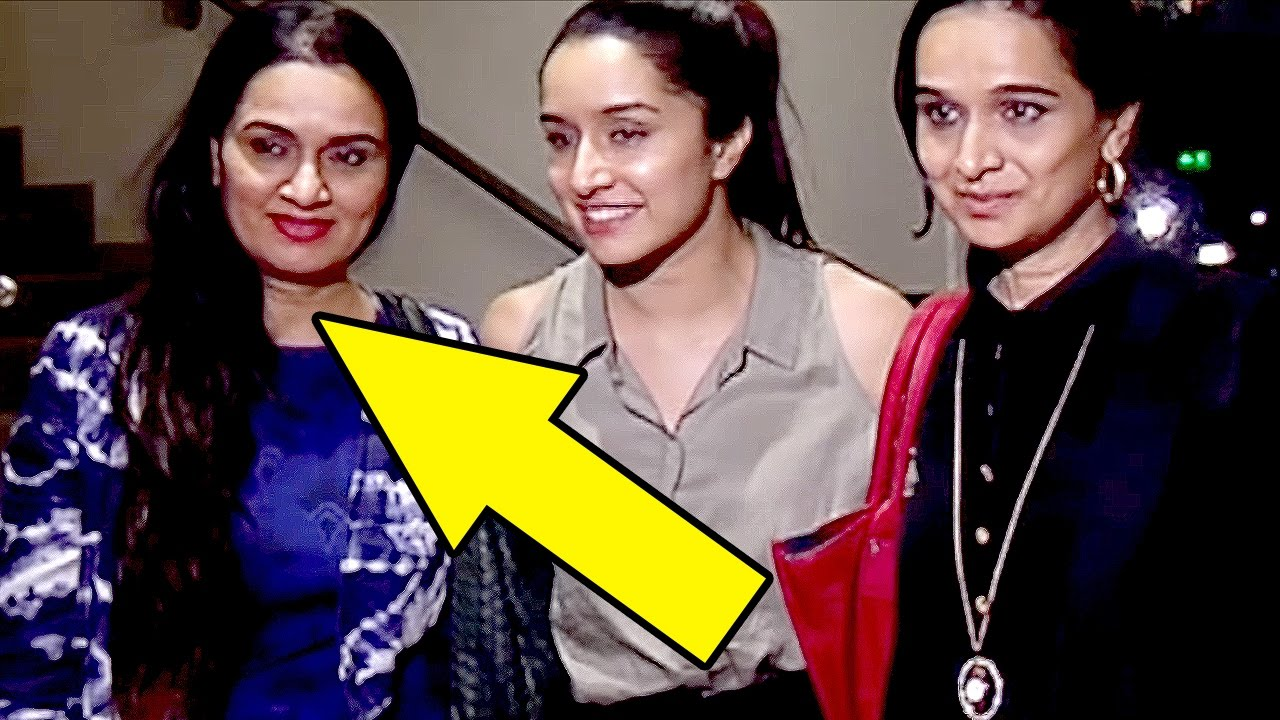 Shraddha Kapoor Spotted With Her Famous Aunt
