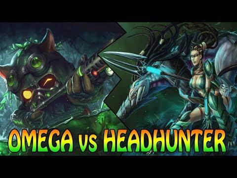 NEW OMEGA vs HEADHUNTER - SKIN BATTLE