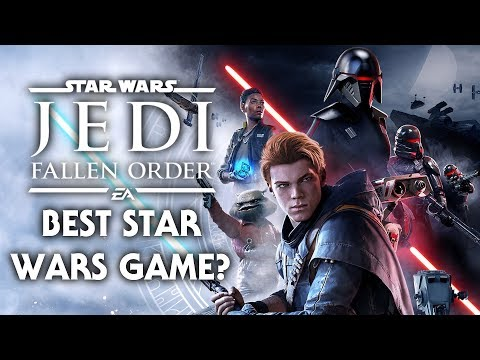 Star Wars Jedi: Fallen Order Is The Best Star Wars Game I Have Ever Played