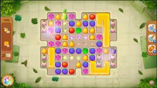 Gardenscapes Level 482 No Booster 🌲  l MiniGames