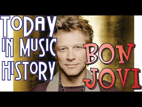"Today in Music History - ""Bon Jovi"" Mini-Documentary"