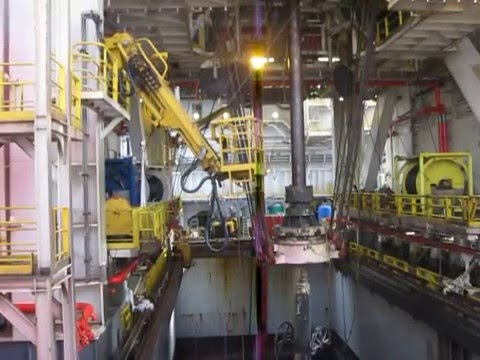 EDS Test Slip Joint Moving Up on Drillship