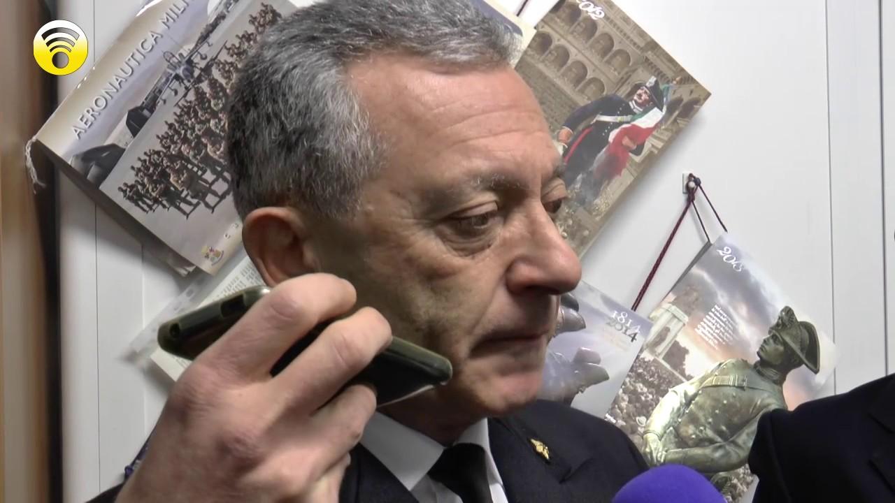 L'Ammiraglio Giovanni Pettorino visita Andora e Laigueglia: video #1