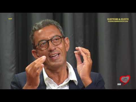 Elettori & Eletti 2020: Amedeo Bottaro, sindaco di Trani (puntata del 20 agosto 2020)