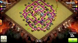 Clash of Clans lvl2 Dragon Attack by Kamal Hossain