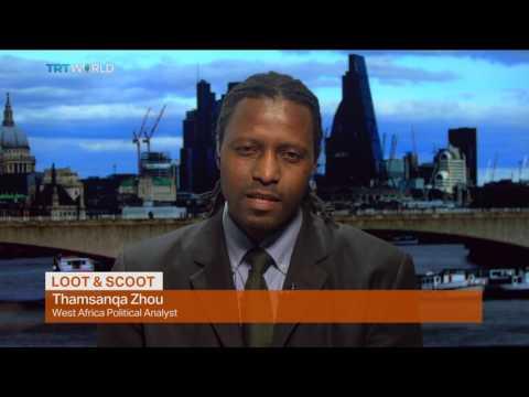 Money Talks: Gambian president loots state coffers