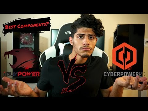 iBuyPower VS CyberPower Pc (Component Comparison and Unboxing)- Who uses the better components?