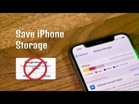Save Storage on iPhone - Tips & Tricks!