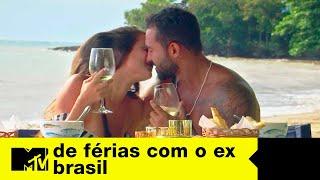 Brunão deixa Gabi no passado e fica com Stefani em date | De Férias com o ex Brasil Ep. 03