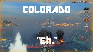 "Colorado - Still ""Eh."""