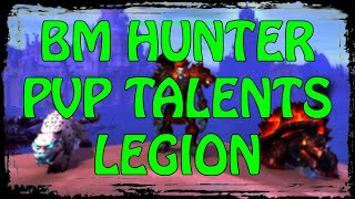 hunter bm pvp talents legion full guide and my opinions