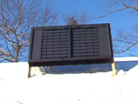 Pop soda beer can solar powered heater furnace panel for Tin can solar heater