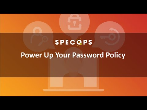 How things work: Default Domain Policy and Specops Password
