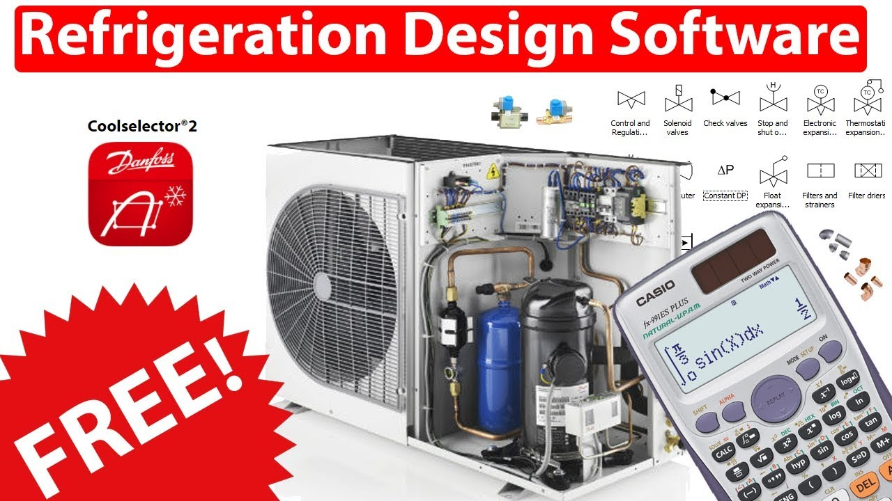 Refrigeration Design Software Coolselector 2 Youtube