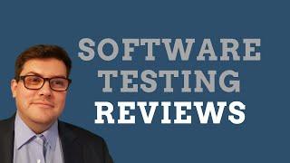 Software testing reviews