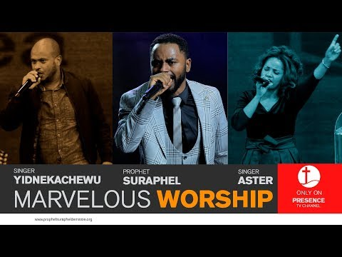 PRESENCE TV CHANNEL(መንፈስ ቅዱስ!!worship)nov24,2017 with prophet of God SURAPHEL DEMISSIE thumbnail