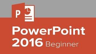 PowerPoint 2016 Beginner