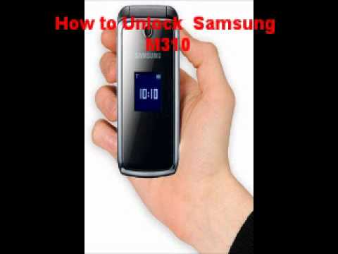 Samsung M310 Unlock Code - Free Instructions