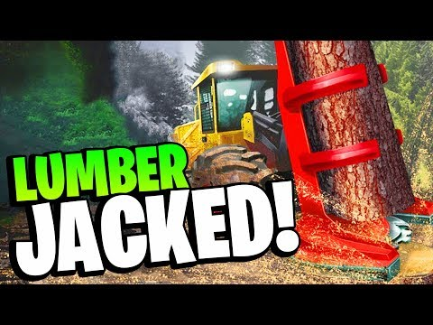 I Became a LUMBERJACK I Regret My Life - Lumberjack Simulator - 동영상