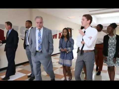 State Education Superintendent Richard Woods Visits Hillgrove High School on Wednesday