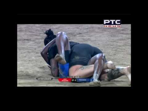 DR B R Ambedkar 6th World Cup Kabbadi Punjab 2016 |New Zealand v/s Tanzania Women |Match 3 Gurdaspur
