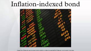 Inflation-indexed bond
