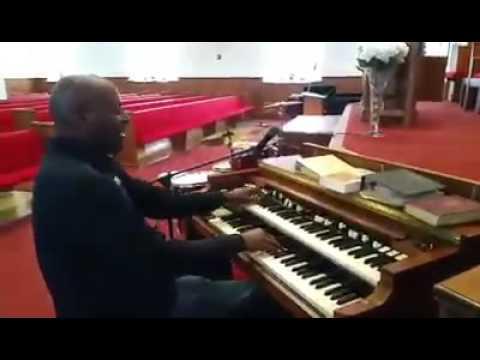 Dr  Danny C  Cross On The Hammond B3 Organ In Orlando Florida