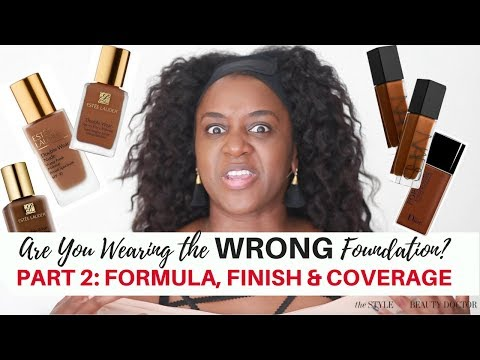 Are You Wearing the Wrong Foundation? Pt 2: Finish, Formula, and Coverage