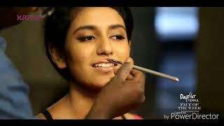 Priya varrier Real Look-Manikya malar actress, oru adar love story