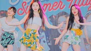 레드벨벳('Red Velvet) - 'Power Up'(파워업)@180812 캐리비안베이 [4k Fancam/직캠] By TheGsd