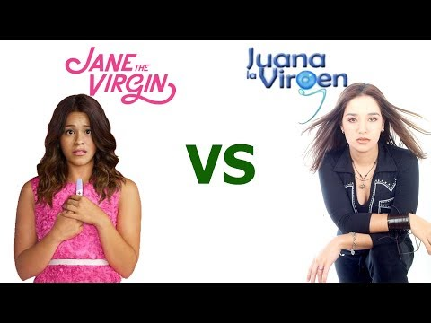 Jane The Virgin (American) VS Juana la Virgen (Venezuela)