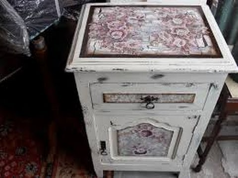 Como reutilizar tu mesa antigua patinas originales youtube - Restaurar decorar y pintar muebles ...