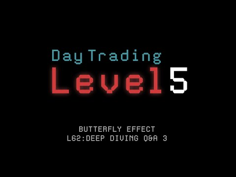 When Stocks Lose Levels L62: Deep Diving Q&A 3 (Butterfly Effect Course)