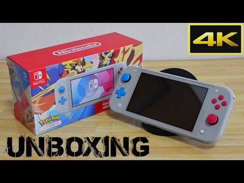 nintendo-switch-lite-|-pokemon-sword-and-shield-edition-unboxing