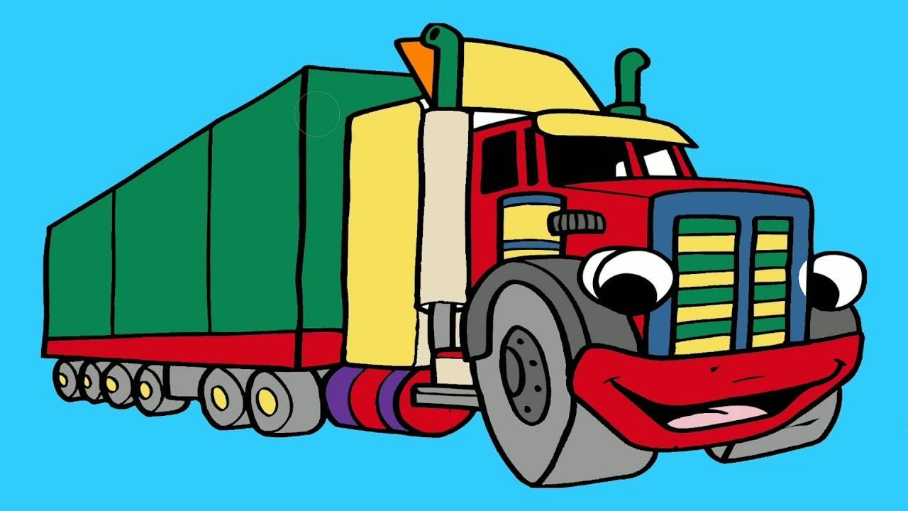 Big Truck changes colors - Super cars