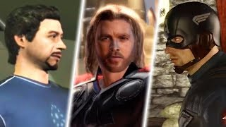 Evolution of MCU Games in 8 Minutes (2019)