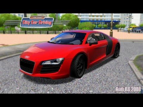City Car Driving ► Audi R8 2008 [Deutsch/HD]