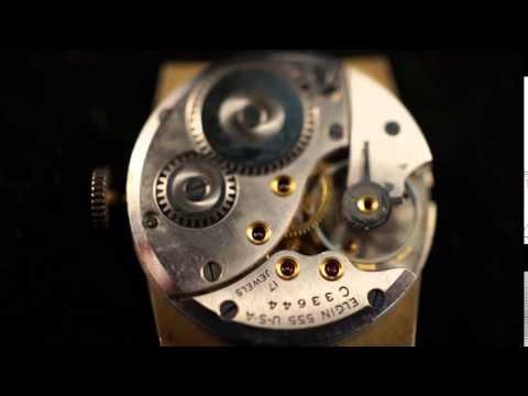 ELGIN 17 Jewel Mens Wristwatch 10K Gold Filled