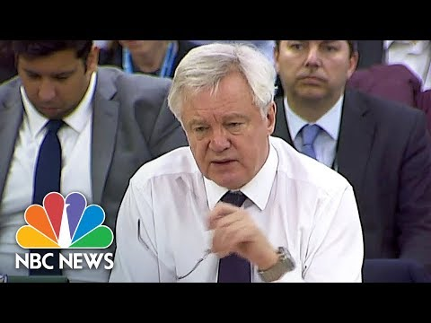 Minister David Davis Admits Brexit Impact Assessments Do Not Exist | NBC News