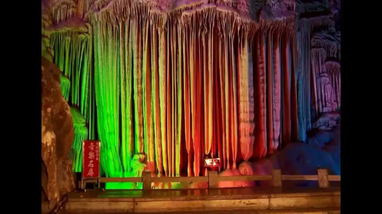 natural wonders reed flute cave china youtube