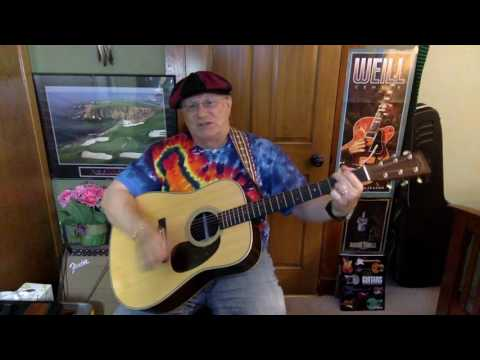 2173 -  Drunken Poet's Dream -  Ray Wylie Hubbard cover -  vocal & acoustic guitar & chords