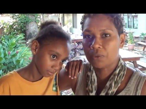 Natina & Shadeena, Solomon Island vaccination launch