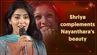 'Dubbing artistes should have an award category too' – Nayanthara | FEFSI | Sun TV Throwback