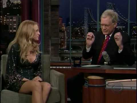 Blake Lively The Late Show with David Letterman