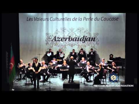 A concert by Azerbaijani musters of art in Melouse city of France